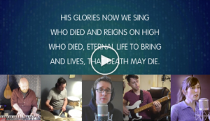 screenshot of lyric video
